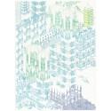 Copenaghen 2700 Blu/verde/viola poupée super limited edition