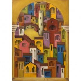 Borgo in cornice