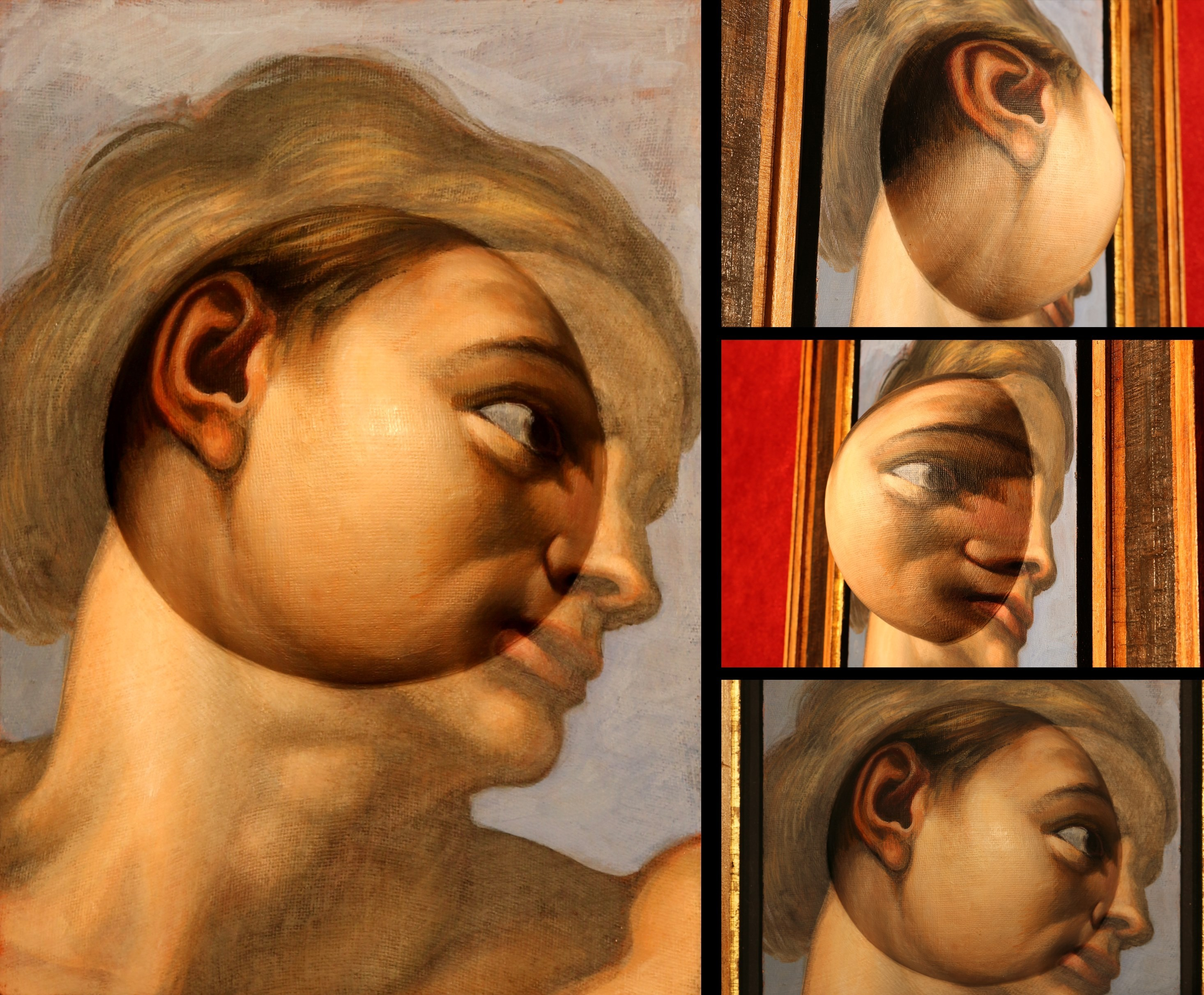Adamo omaggio a Michelangelo