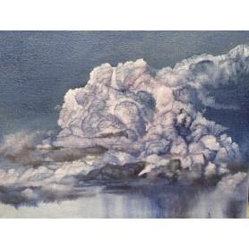 La nube cremisi